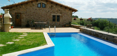 Casa rural amb piscina for Casas rurales para alquilar